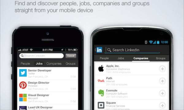 LinkedIn усовершенствовала поиск в приложениях для Android и iOS