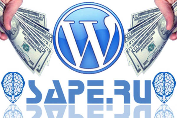 Установка кода Sape на сайт WordPress